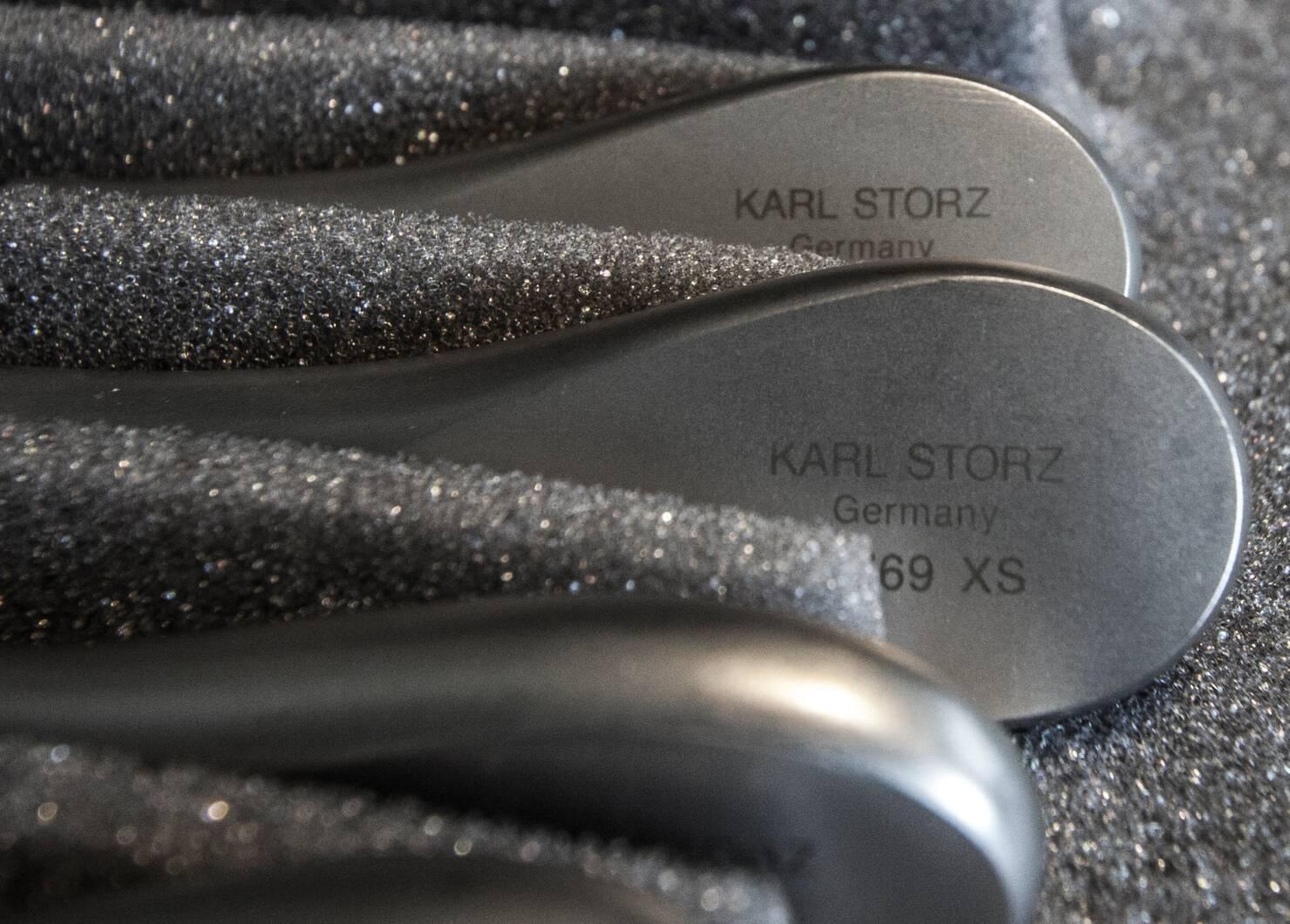 Voici du matériel endoscopique de Karl Storz