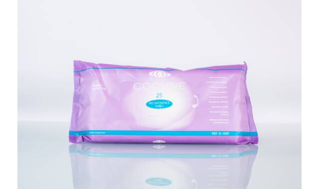 Cocune lingettes pour l'incontinence - 12 x 25 pcs