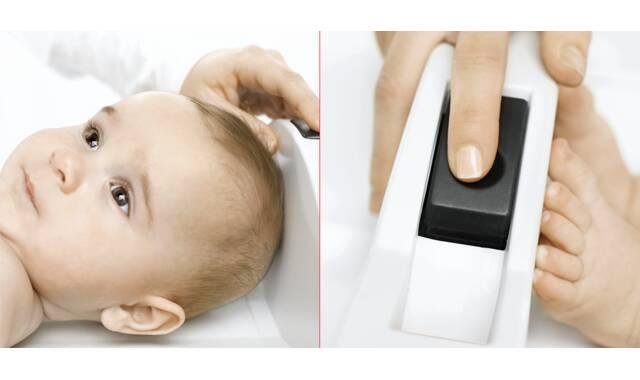 Seca - 416 mobiele meetbak voor baby's en kinderen