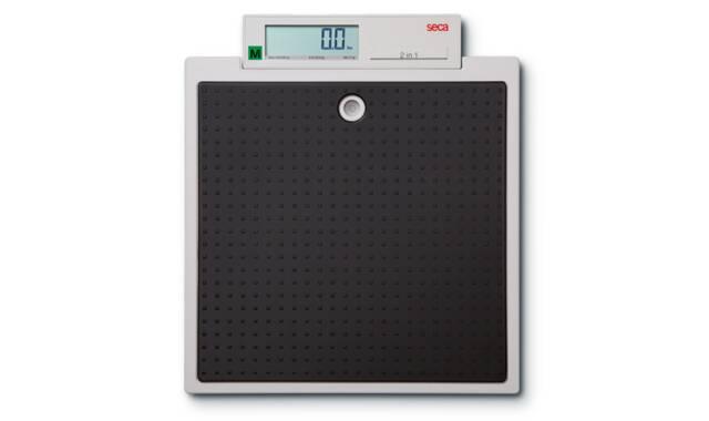 Seca - 877 digitale opstapweegschaal (willemstad)