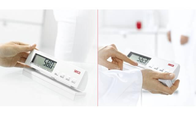 Seca - 899 digitale opstapweegschaal