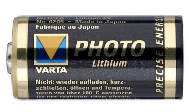 Fotobatterij, lithium, 3.0 V