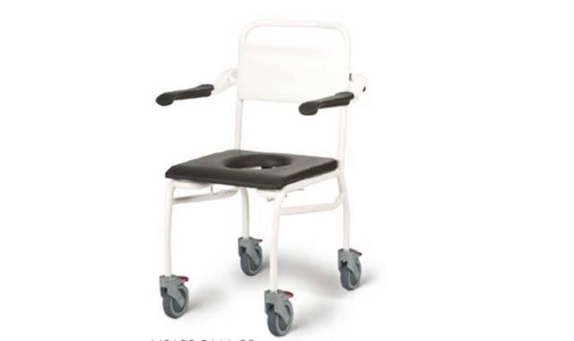 Handicare - Verrijdbare douche-/toiletstoel