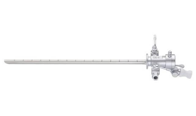 Schacht 14,5 Fr. kit met ingeb. instrumentenkanaal