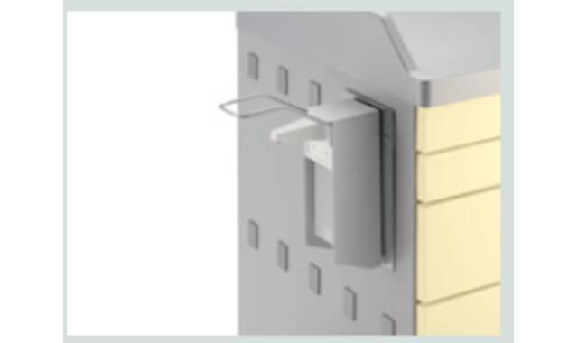Med-Systeme - RVS desinfectiedispenser